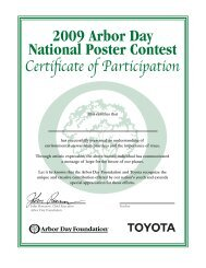 School Winner 2009 Arbor Day National Poster Contest