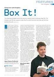 FEATURES - Linux Magazine