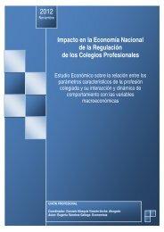 Impacto en la Economía Nacional de la Regulación de ... - ADLYPSE