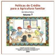 Políticas de Crédito para a Agricultura Familiar - NRSP