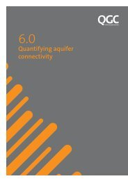 6.0 - Quantifying aquifer connectivity - QGC