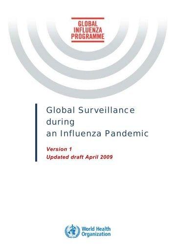 Global Surveillance during an Influenza Pandemic - World Health ...