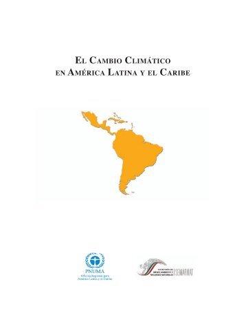 EL CAMBIO CLIMÁTICO EN AMÉRICA LATINA Y EL CARIBE - OEI