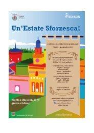 Programma Estate Sforzesca - Comune di Milano