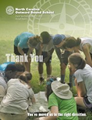Download a pdf of our latest Annual Report - North Carolina ...