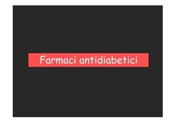 Farmaci antidiabetici