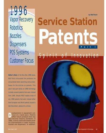 1996 Service Station Patents - Technology Resources International ...