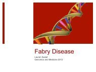 Lauren Sweet - Fabry Disease