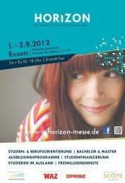 1.+2.9.2012 Essen   - Horizon