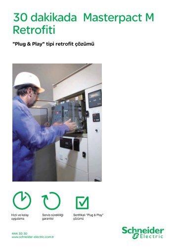 30 dakikada Masterpact M Retrofiti (pdf, 391,86 ... - Schneider Electric