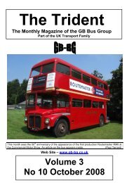 Volume 3 No 10 October 2008 - GB Bus Group