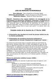 Compte-rendu du 17 février 2009 - Site officiel de la ville d'Aubagne ...