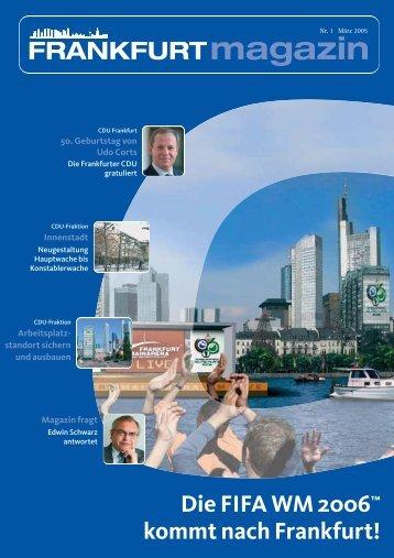 Nr. 1 März 2005 - CDU-Kreisverband Frankfurt am Main