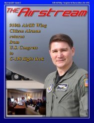 March-April 2011 - Youngstown Air Reserve Station