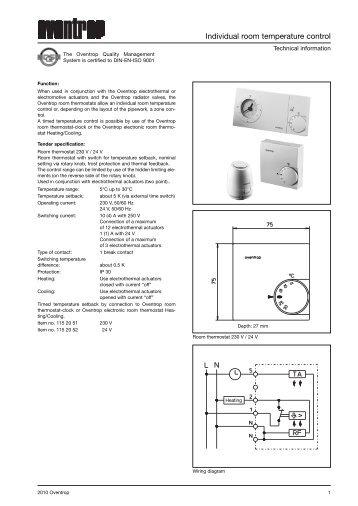 electrothermal actuators  lh  m 30 x 1 5