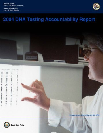 2004 DNA Testing Accountability Report - Projects at NFSTC.org