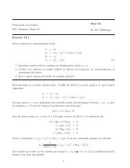 Commande non linéaire STI - Semestre Master II Série VI Dr. Ph ...