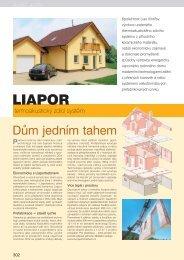 Katalog stavebnice - Liapor