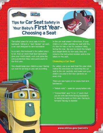 First Year - SaferCar.gov