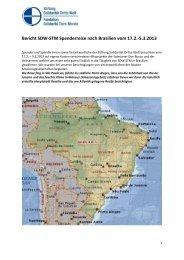 Spenderreisebericht - Solidarität Dritte Welt