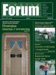 Februar, 2008. go di ne Broj 7 Go di na III - Forumbosnjaka.com