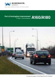 Consultation Leaflet - Highways Agency