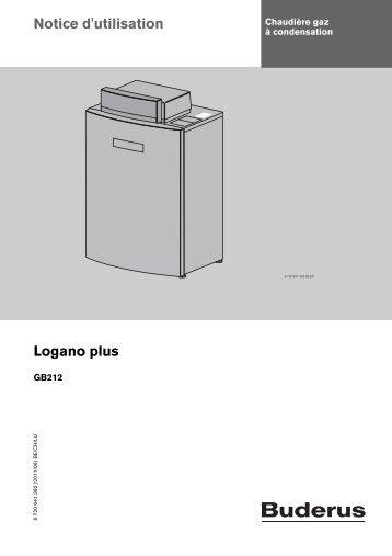 Notice d'utilisation Logano plus
