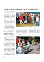 Dansk, arabisk friskole har tyrkisk venskabsskole - Friskolebladet.dk