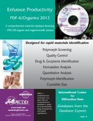 PDF-4/Organics 2012 - Directories