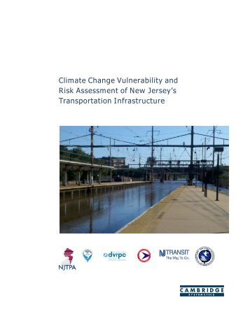 Climate Change Vulnerability and Risk Assessment of New Jersey's ...