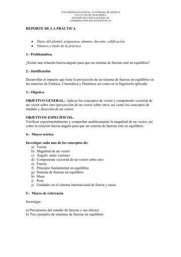 Práctica - Páginas Personales UNAM