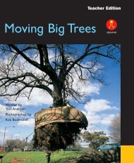 Moving Big Trees alphakids - Comments on
