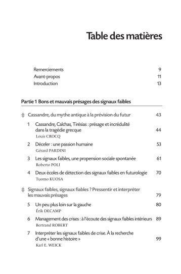 Sommaire - Patrick Lagadec