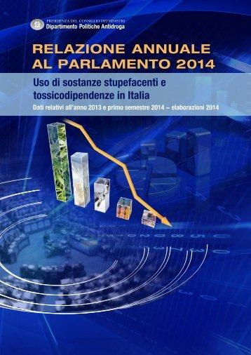 relazione annuale al parlamento 2014