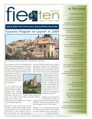 Spring 2008 Newsletter (PDF). - Foundation for International ...