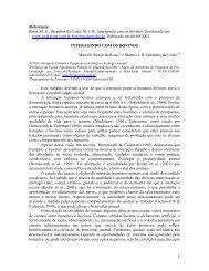 1 Referência: Rosa, M. S.; Paranhos da Costa, M. J. R. Interagindo ...