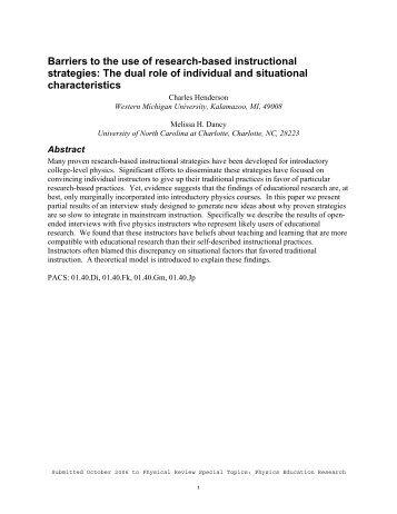 Research Based Strategies Used To Develop Glencoe Algebra 1
