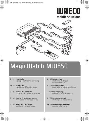 MagicWatch MW650 - Waeco