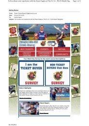 Survey Kent - Essex Cricket
