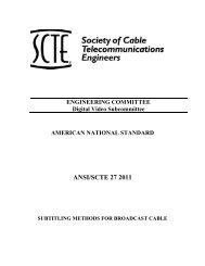 ANSI/SCTE 27 2011