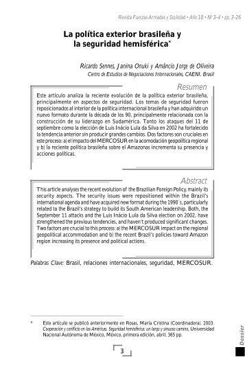 Descargar Archivo - Revista Fuerzas Armadas y Sociedad