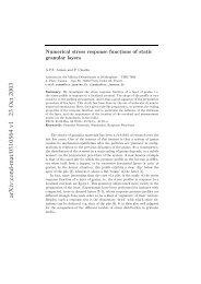 arXiv:cond-mat/0310564 v1 23 Oct 2003