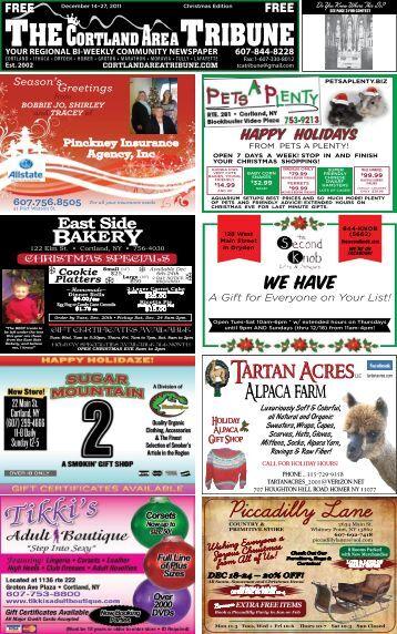 December 14-27, 2011 - The Cortland Area Tribune