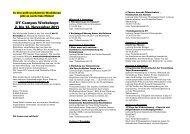 DT Campus Workshops 2. bis 12. November 2011 - Deutsches ...