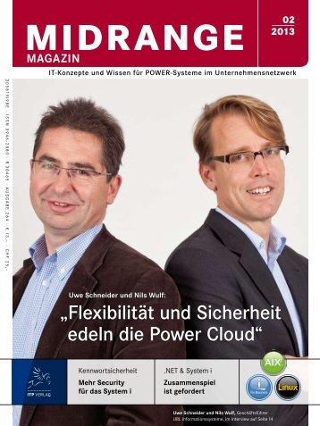Flexibilität und Sicherheit edeln die Power Cloud - Midrange Magazin