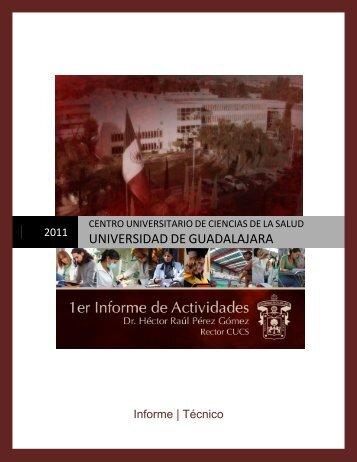 2010-2011 - Centro Universitario de Ciencias de la Salud