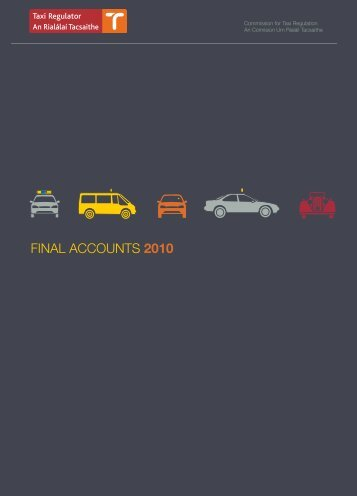 FINAL ACCOUNTS 2010 - National Transport Authority