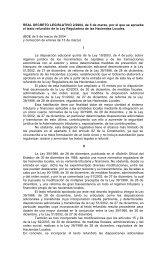 REAL DECRETO LEGISLATIVO 2/2004, de 5 de marzo, por el que ...