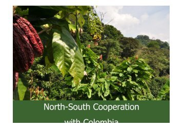 North-South Cooperation with Colombia - Climate Alliance