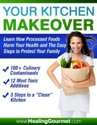 Your Kitchen Makeover - The Food Cure